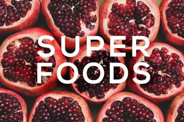 Foodie Palabras superfoods granada